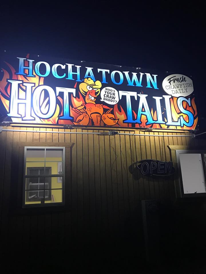 Hochatown Hot Tails Crawfish Restaurant in Hochatown, OK