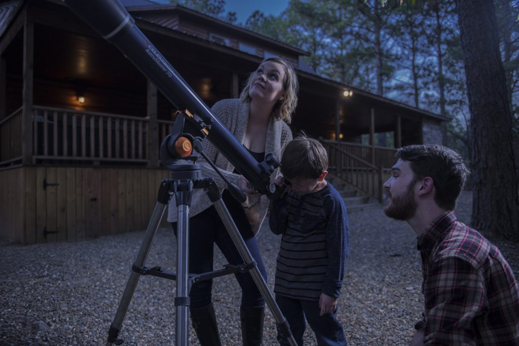 Stargazing in McCurtain County