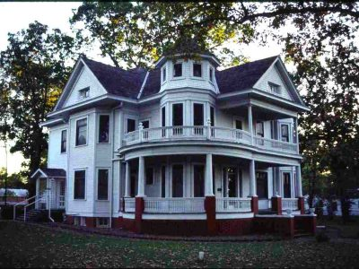 Barnes-Stevenson House historical site in McCurtain County Oklahoma