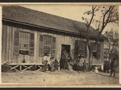 The Elliott Academy was a 19th century boarding school for children of Choctaw freedmen.