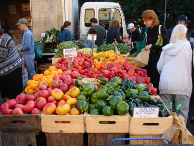 Get fresh local produce from the Valliant Farmers Market.