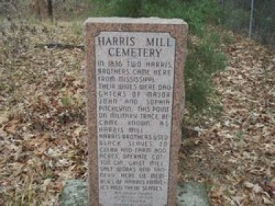 harris mill cemetery