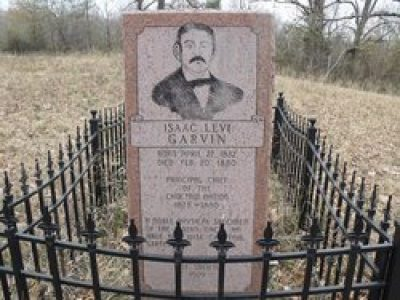 Isaac Garvin Grave