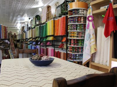 quilt shoppe fabric shop broken bow