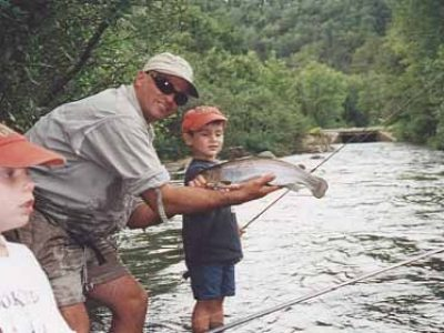 Wright fishing guide service in McCurtain County Oklahoma
